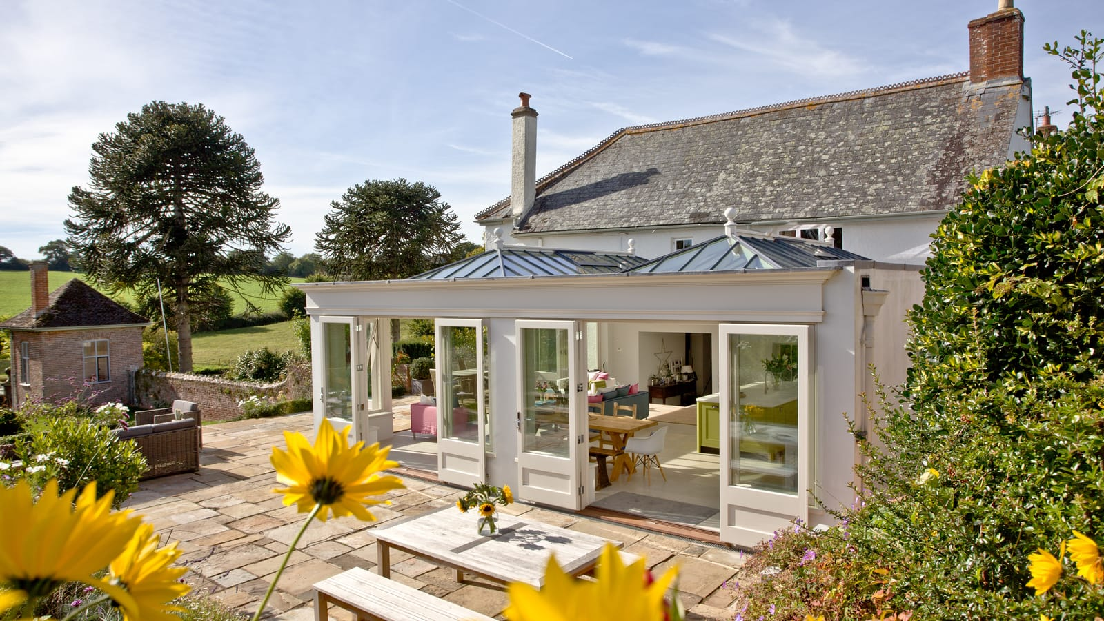 Do orangeries and garden rooms need foundations?