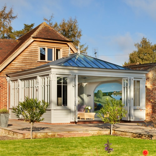 Classic Open Plan Orangery for Country Home