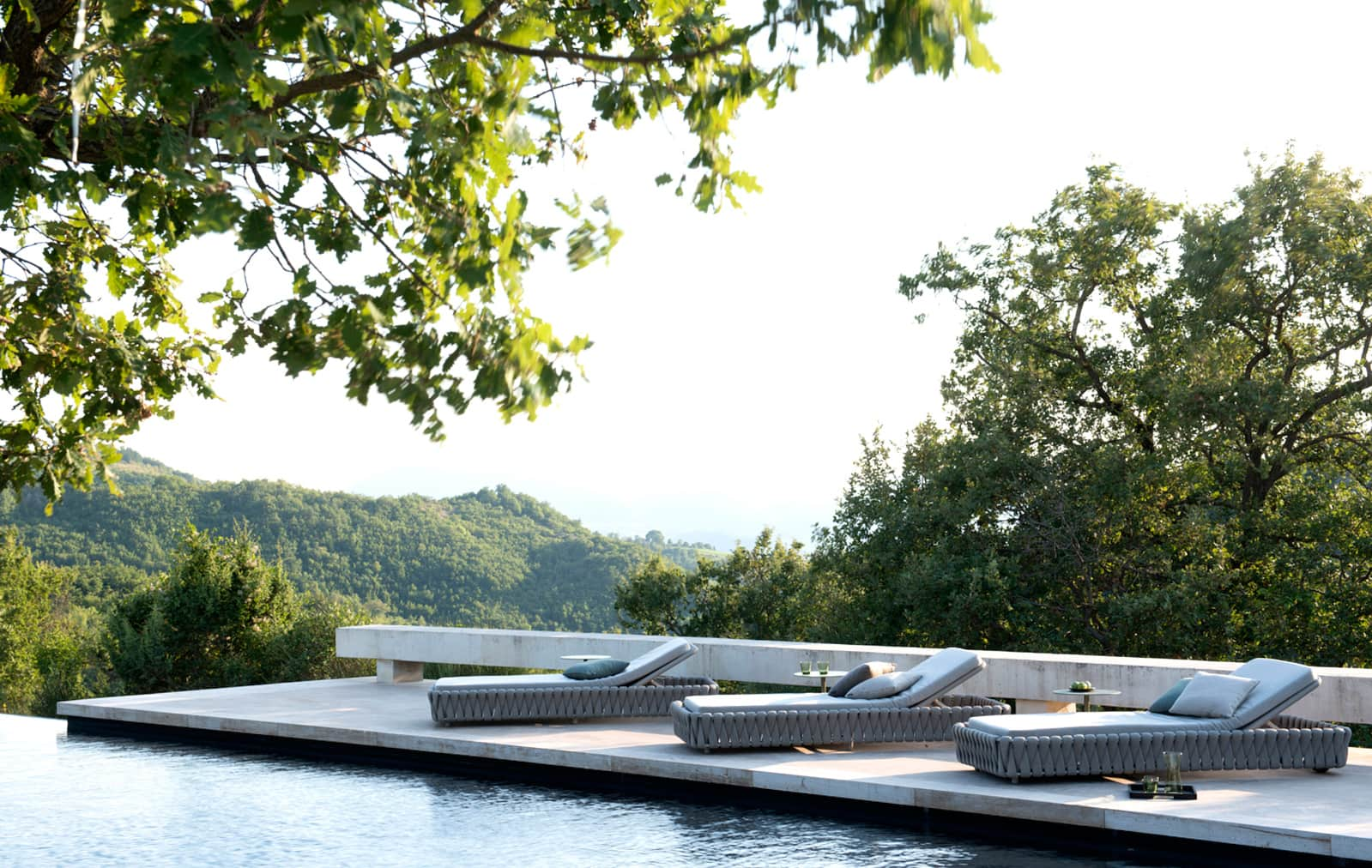 Sumptuous Poolside Furniture with The Modern Garden Company