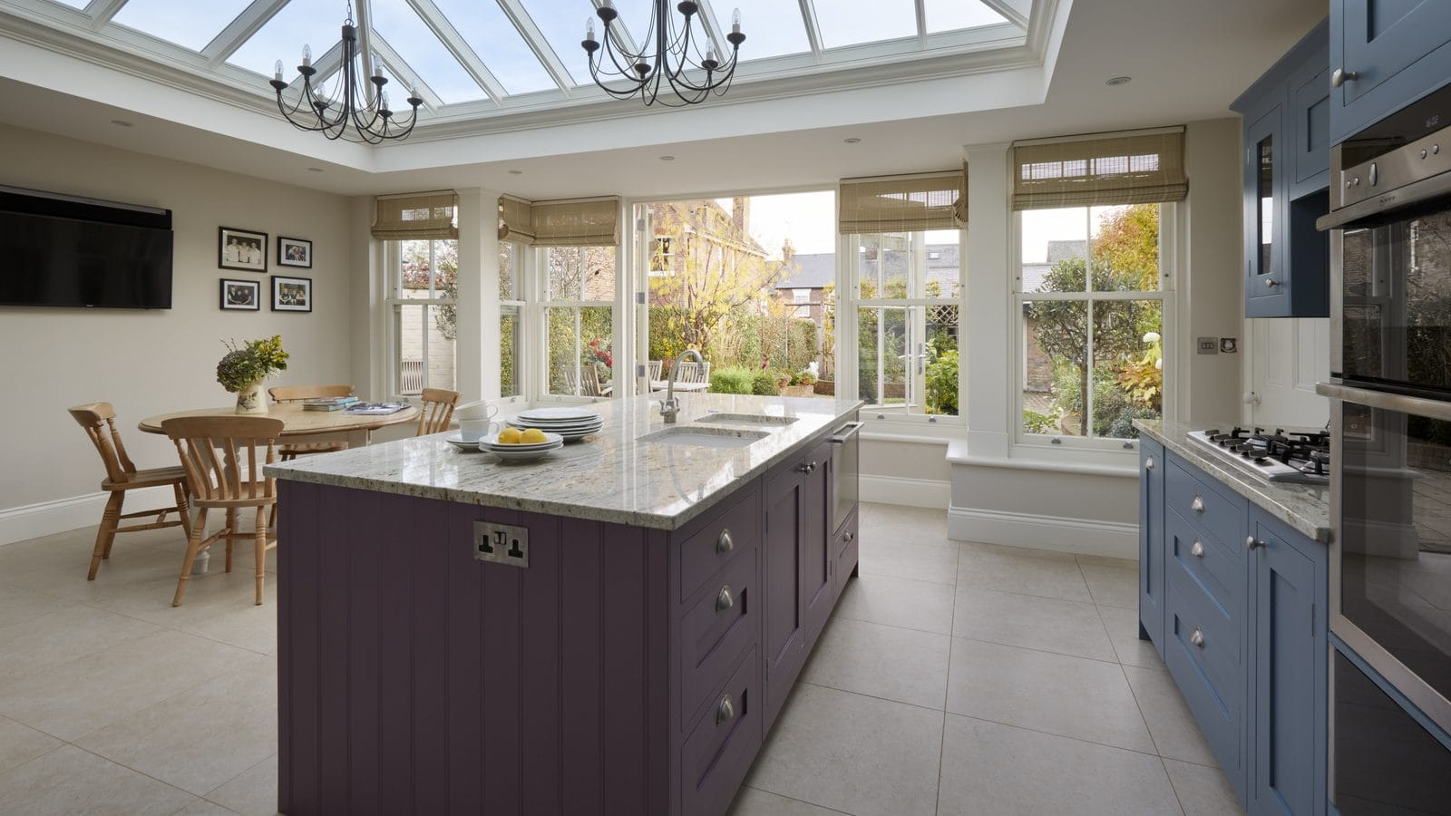 Replace a previously much-loved conservatory with an orangery or garden room