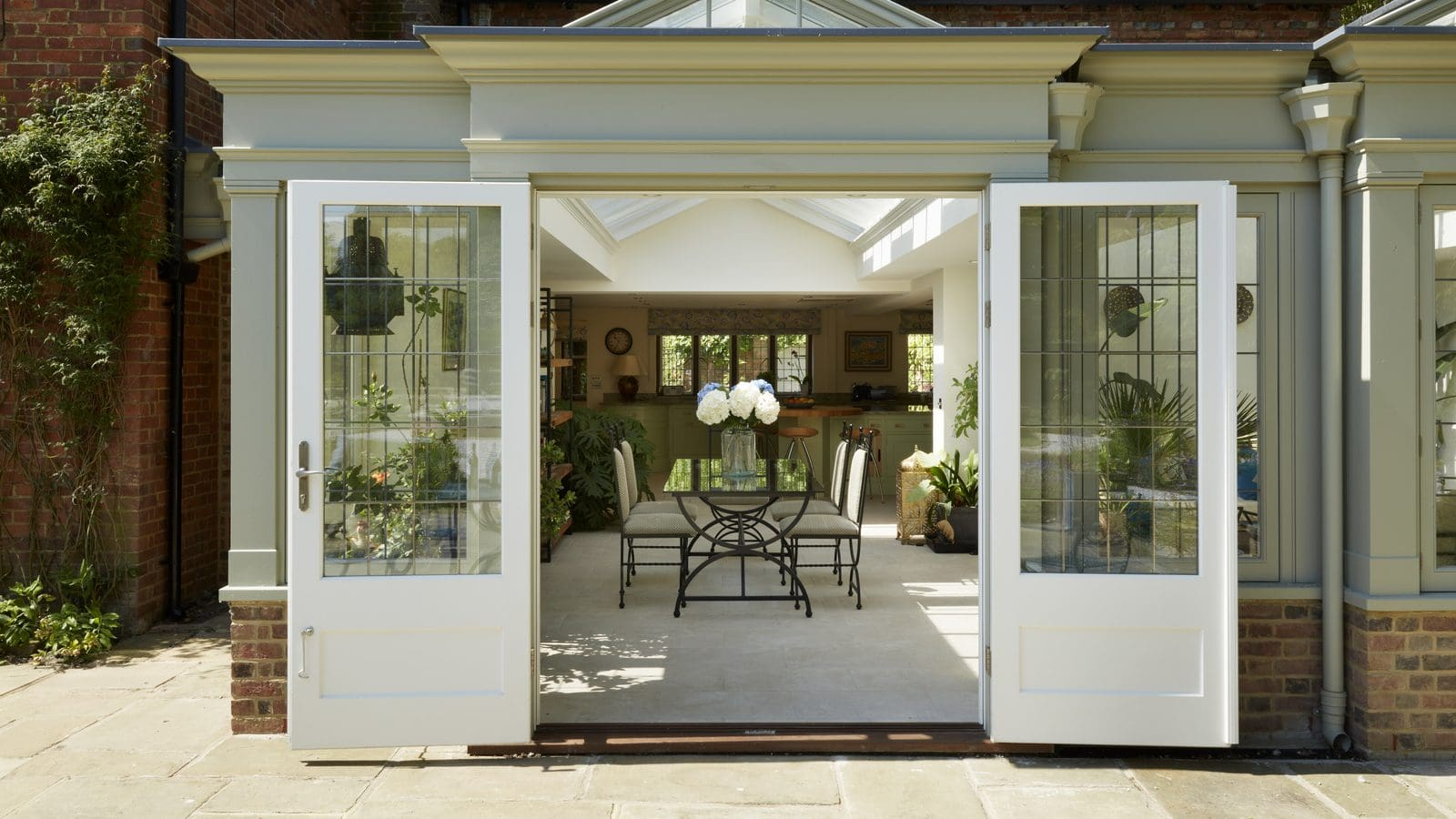 How to keep your glazed garden room or orangery feeling cool