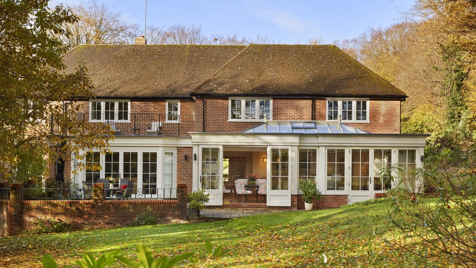 Client testimonial: stunning and spacious orangery with open kitchen diner