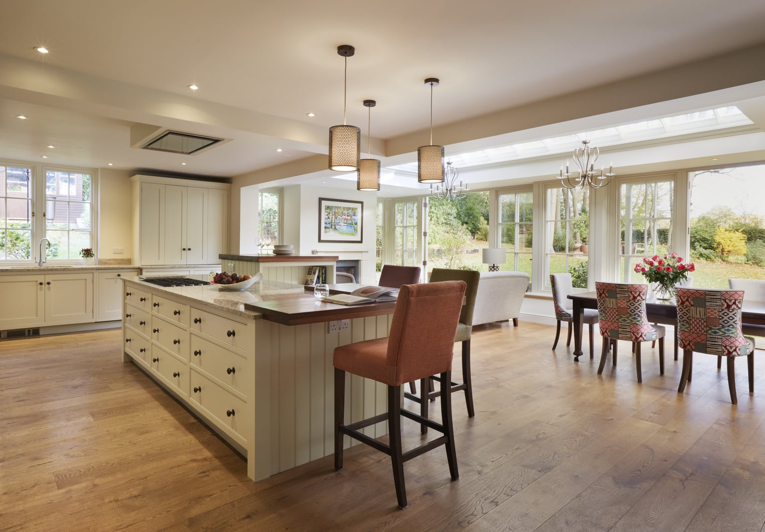 Client Testimonial Stunning And Spacious Orangery With Open Kitchen Diner