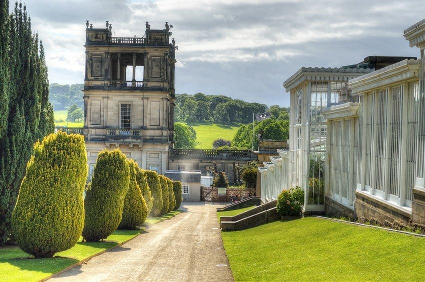 Chatsworth House, Derbyshire, Britain