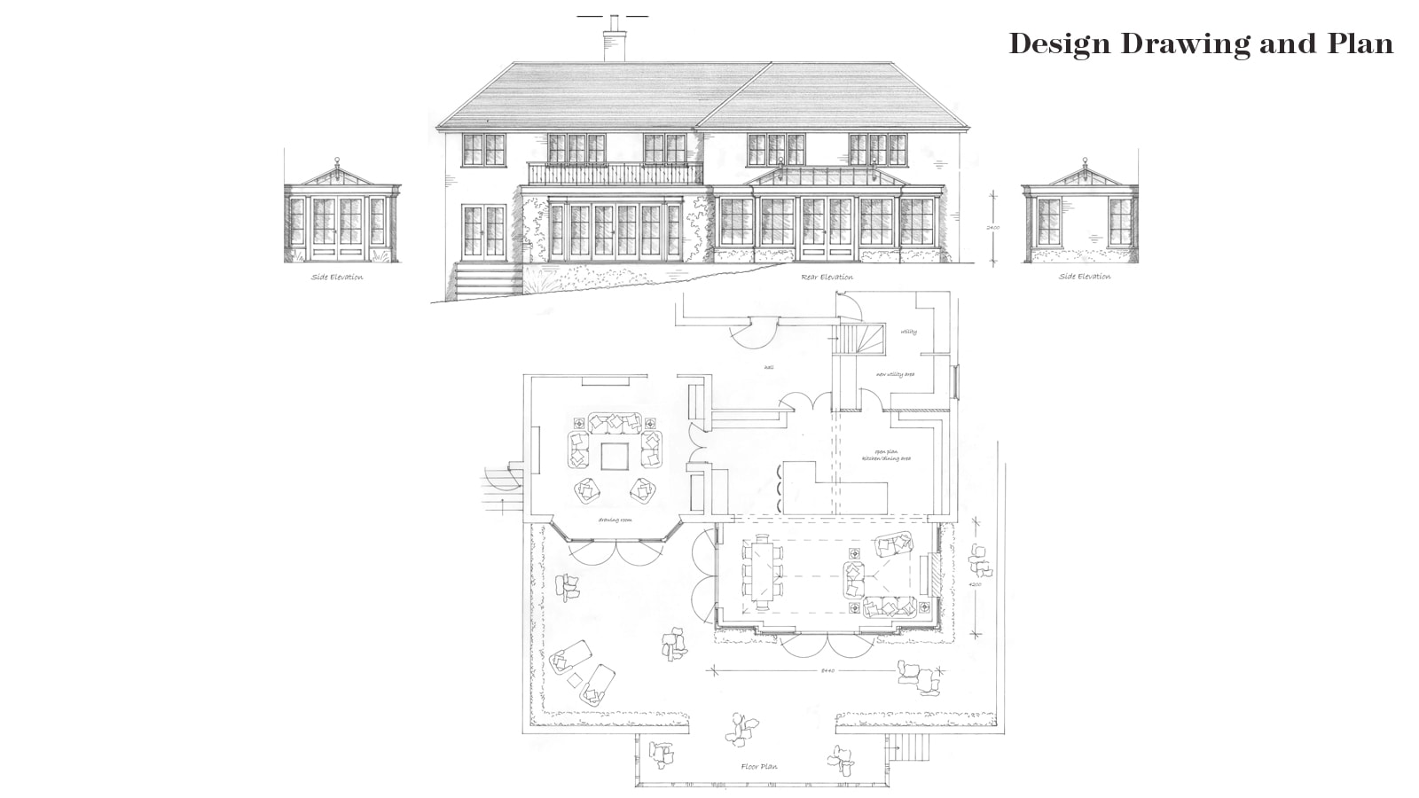 Orangery Design Drawing