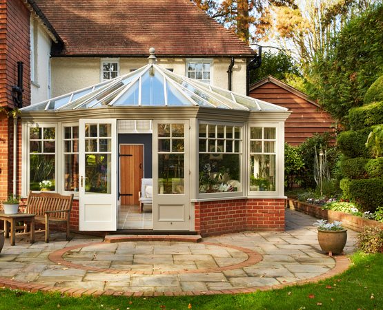 Timber Conservatory