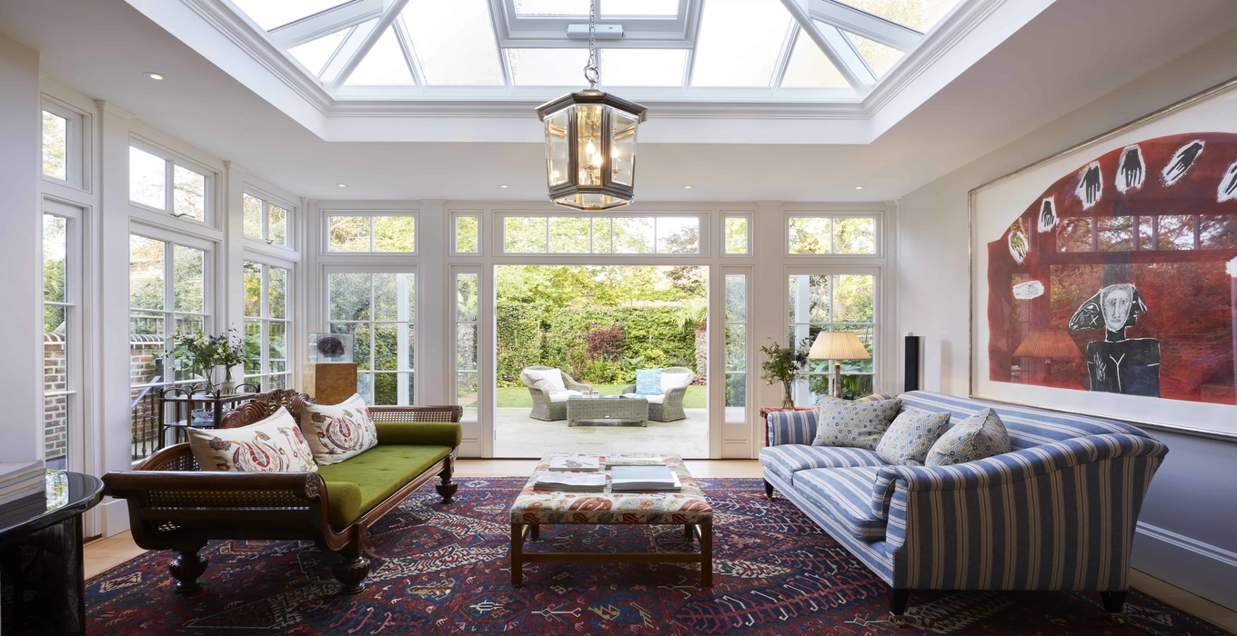 Client testimonial: An Oxford orangery with entertaining in mind