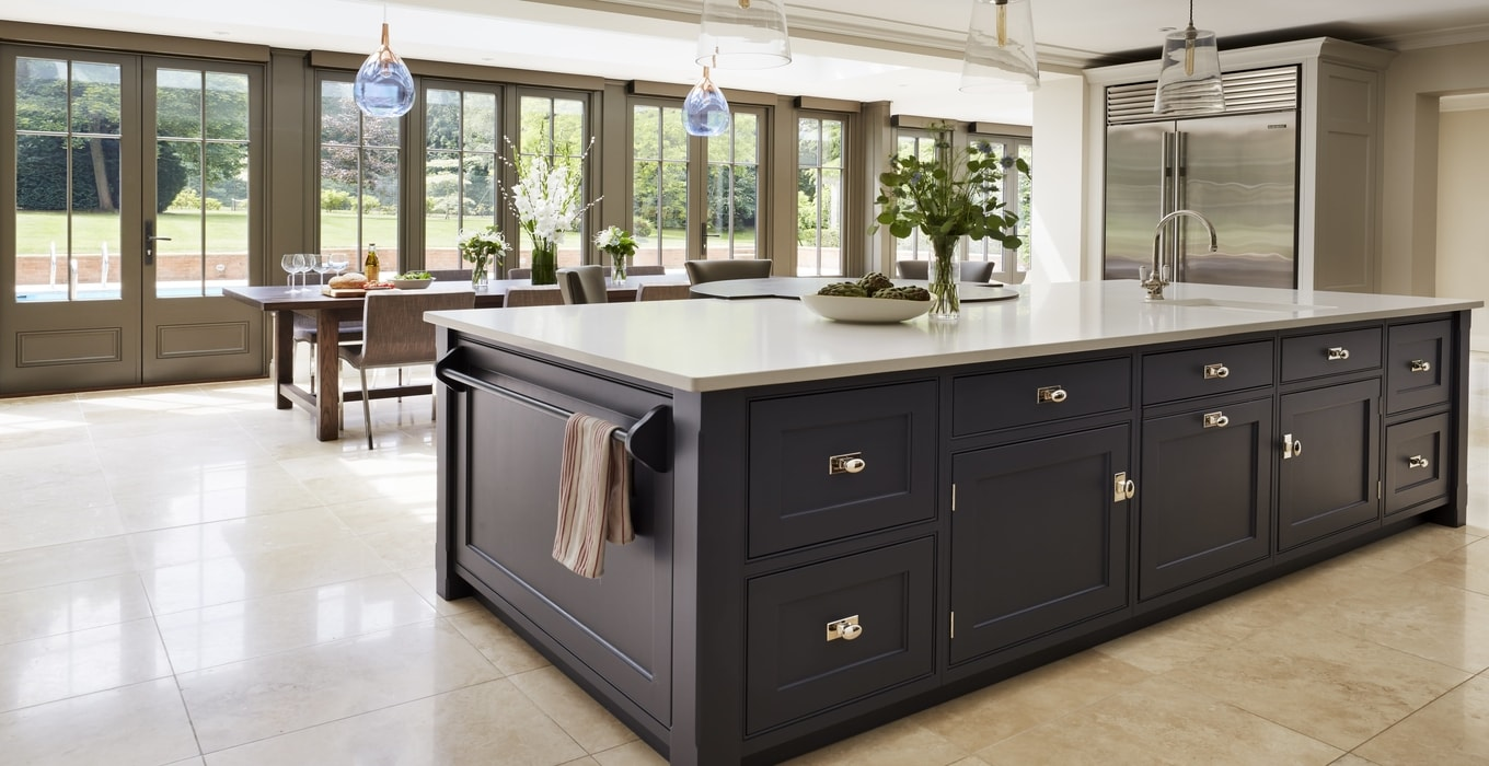 How to extend a kitchen with an orangery