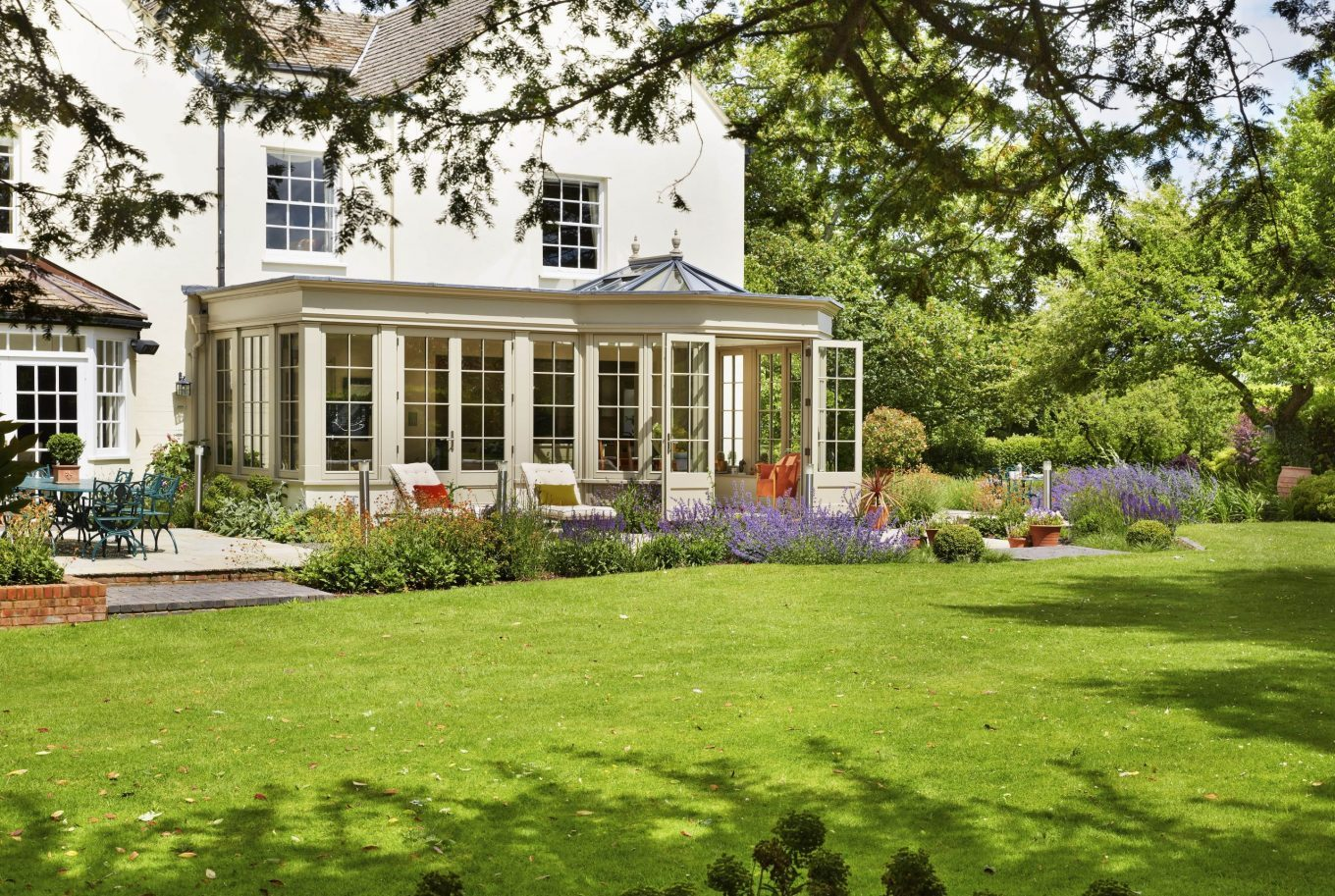 Client Testimonial: A grand orangery nestled in the Chilterns