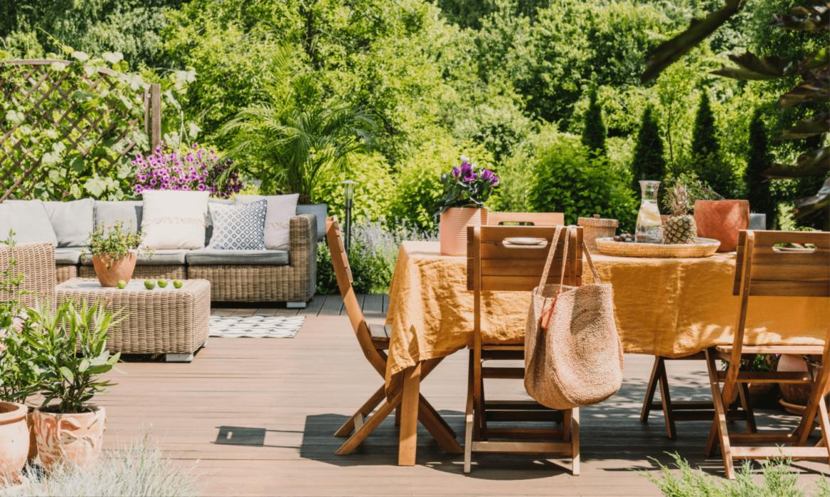 Garden Design: Dining Outdoors
