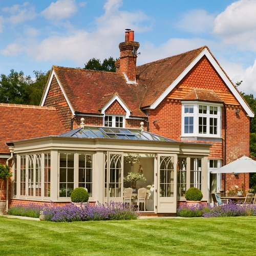 Orangery on grade 2 listed property