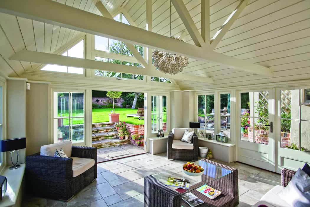 Let there be light: sun-filled garden rooms