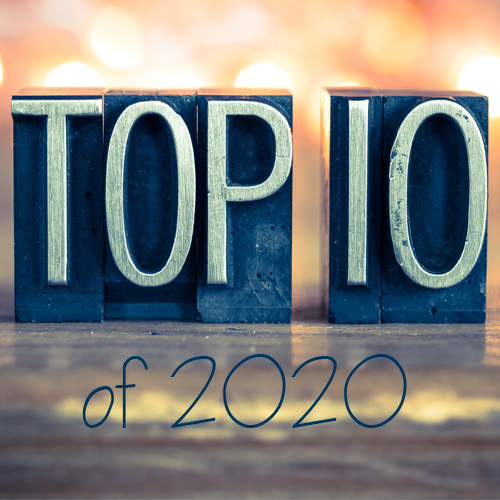 Our Top 10 blogs from 2020