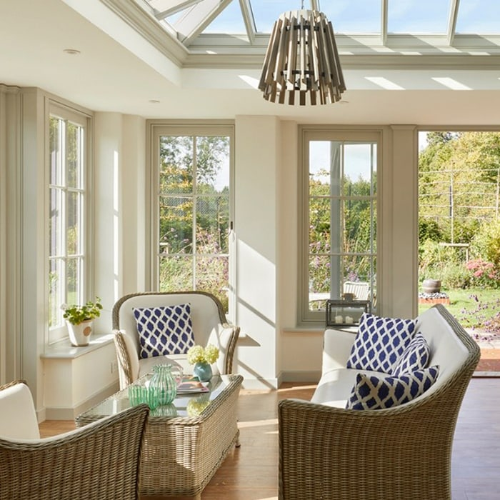 A matching set: property transformed with Westbury garden room and bespoke doors and windows