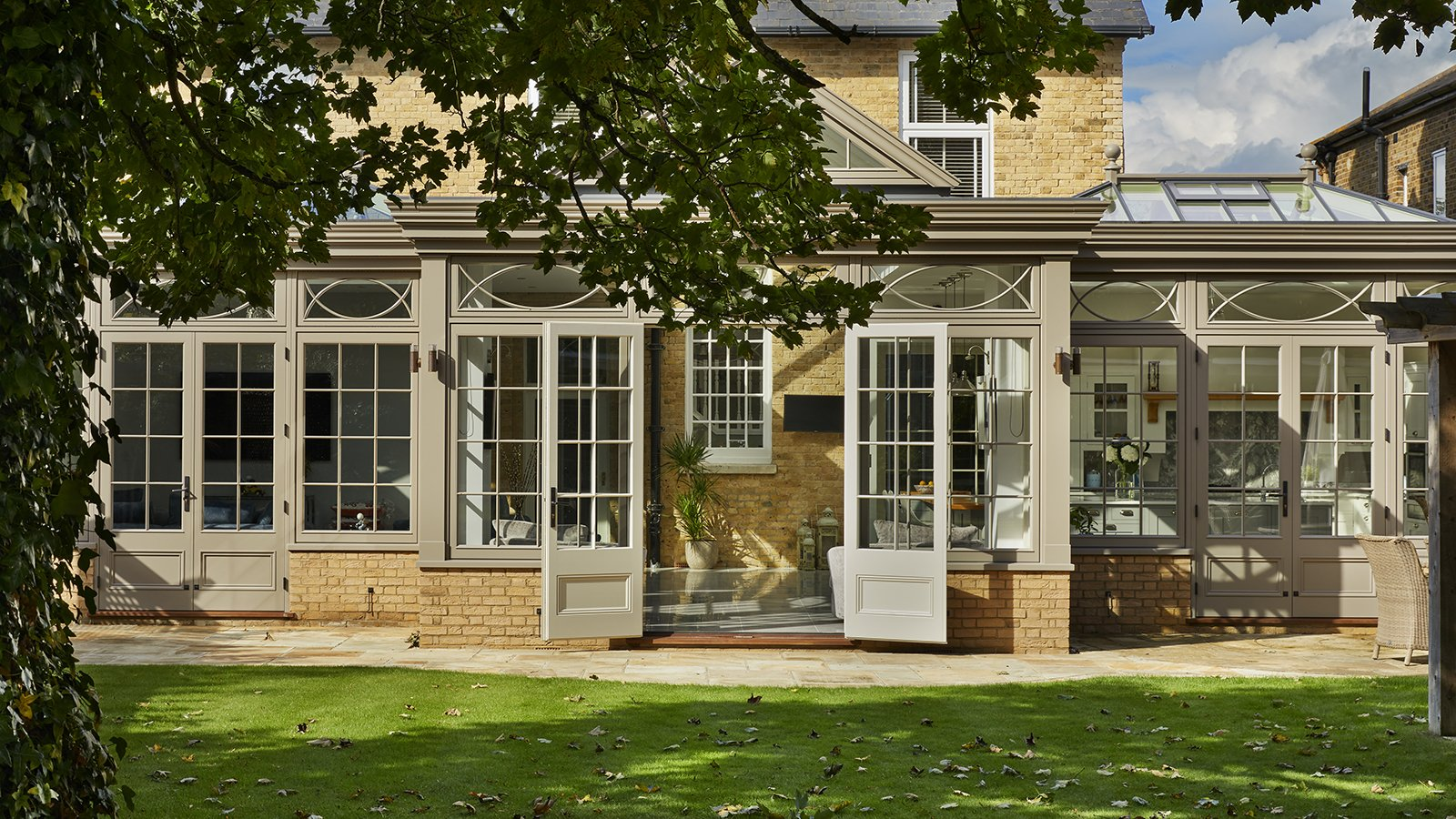 Suburban Family Home Rejuvenated By The Addition Of A Modern Orangery