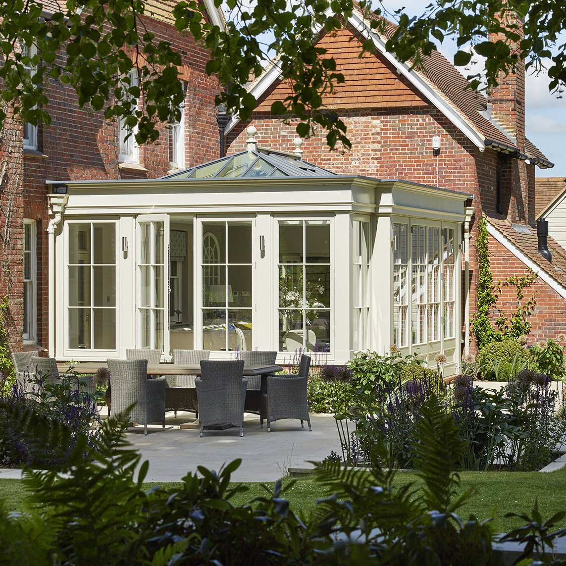 How can a traditional orangery modernise your home?